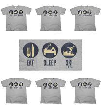 Eat Sleep EXTREME SPORTS MENS Funny ORGANIC T-Shirts Gift Top Tee *CHOOSE SPORT*