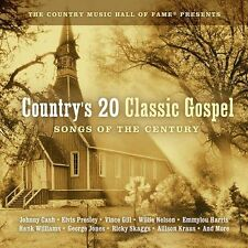 Country's 20 Classic Gospel: Songs of the Century by Various Artists (CD,...