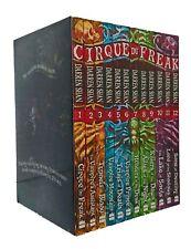 Cirque Du Freak Collection Set Saga of Darren Shan 12 Books Box Set  Boys New