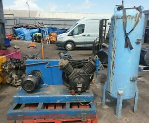 Ingersoll Rand 7100 Air Compressor 3 Phase With Storage Tank