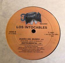 """Los Intocables - Vive Y Aprende / Dueno Del Mundo - 12"""" Tuxedo 1989 - Random Rap"""