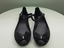 MEL BY MELISSA sz 40 (or 9 us ) womens Blueberry Jelly bow shoes [#F134]