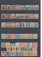 Danzig, Gdansk, verschiedene Sammlungen ex 1-192 + D/P *, ungebraucht mit Falz
