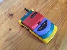 Vintage Motorola Startac 70 Rainbow Mobile Phone Retro Multicoloured Multicolor