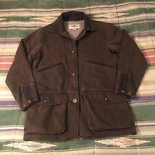 WOOLRICH fleece Lined Chore Coat Iacket Womans SMALL