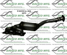 Catalytic Converter-Exact-Fit - Manifold Front Davico Exc CA 18273