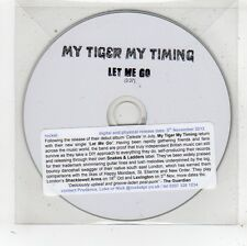 (FV776) My Tiger My Timing, Let Me Go - 2012 DJ CD