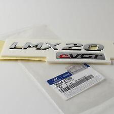 """GENUINE HYUNDAI EMBLEM 2010-2014 TUCSON IX35 """"LMX20 eVGT"""" EMBLEM BADGE"""