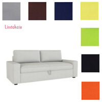 Custom Made Cover Fits IKEA Vilasund Three-Seat Sofa Bed, Replace Sofa Cover