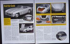 MERCEDES-BENZ 300 SL ROADSTER in 1-18 von Minichamps...ein Modellbericht   #2008