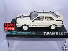 TEAM SLOT  BAS61 AUDI QUATTRO BASIC CAR WHITE    MB
