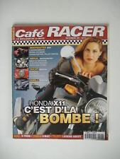 CAFÉ RACER n°26 BORILE B 500 CR-HONDA X ELEVEN-MIDUAL ROADSTER 900-BUELL X TREM