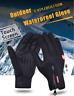 Men-Women Winter Full Finger Sports Riding Motorcycle Ski Snow Snowboard Gloves