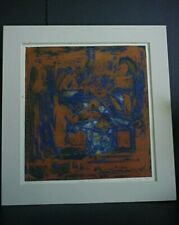 Dantes Inferno Hand Signed Streifer '72 Painting Limited Edition 3/5 Abstract
