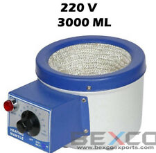 Heating Mantle 3000ml /3ltr Capacity 220V by BEXCO Free DHL Shipping
