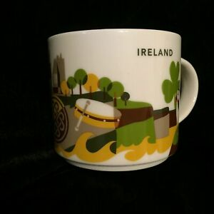 Starbucks Ireland Mug You Are Here YAH Collection NEW Gift