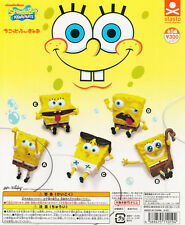 Stasto Chikotto Figure SpongeBob SquarePants Gashapon Set of 5pcs