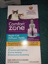 Comfort Zone Multi-Cat Diffuser Refill for Cats & Kittens 48ml #3544�Freeship�