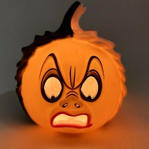 Disney Villians Cruella Pumpkin Mini Light Up Halloween Decor Lantern Jack O