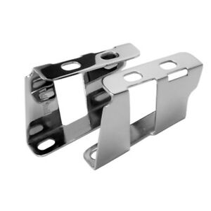 Tuff Stuff Power Brake Booster Bracket 4651A; Chrome Steel for 1955-1964 Chevy