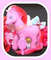 ❤️My Little Pony MLP G2 Vtg Magic Motion Friends Moon Shadow Gem Eyes Pink❤️