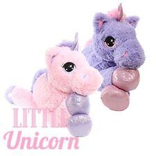 """Little Unicorno 23"""" giocattolo peluche principessa Rebecca viola"""