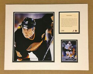 Vancouver Canucks TREVOR LINDEN 1994 Hockey 11x14 MATTTED Kelly Russell Print
