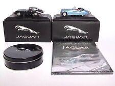 Atlas Editions Jaguar XK140 & Jaguar E Type Plus DVD & Drinks Coasters 1:43