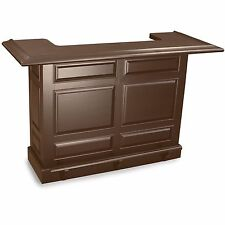 Imperial Home Bar with Antique Walnut Finish w/ FREE SHIPPING