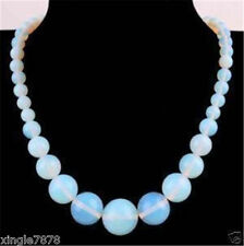 """wholesale natural Opal Round Gemstone Beads Necklace 18"""""""