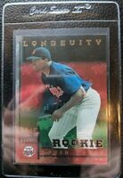 1998 LEAF LONGEVITY DAVID ORTIZ ROOKIE MINNESOTA BOSTON RED SOX #21/50 GEM MINT