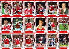 Arsenal 1993 FA Cup winners football trading cards