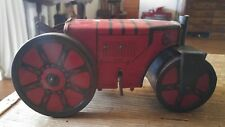 VINTAGE MARX STEAM ROLLER WIND-UP TRACTOR  TIN LITHO 1920's-1930's