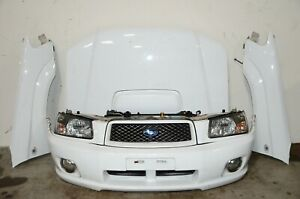 JDM Subaru Forester 2003-2005 SG5 Front Nose Cut Fenders Hood Radiator Support+
