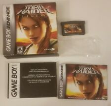 Tomb Raider Legend Game Boy Advance Gba Nintendo Complete in Box Cib Lara Croft