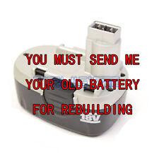 Rebuild service for Worx WA3127 18V 3.0 Ni-MH  Battery BETTER