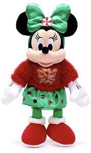 Disney Store Christmas 2020 Minnie Mouse Medium Plush New Tagged