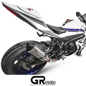 Exhaust for SUZUKI GSX-R GSXR 1000 2012 - 2020 GRmoto Muffler Titanium Carbon
