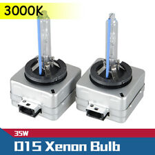 2PCS D1S 35W 3000K Yellow HID Xenon Headlight Light Bulb Replacement Kit Driving