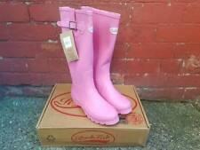 Rockfish Women's Wellies Tall Pink Wellingtons UK 7 - UK 8