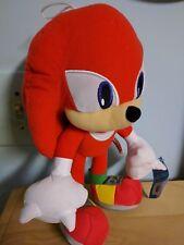 "11""-12"" Knuckles Echidna Plush NWOT Stuffed Animal SEGA Licensed Sonic Series"