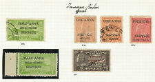 Indian Feudatory States - Travancore/Cochin Official - Lot of Stamps