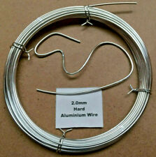 2mm x 10m 14SWG Stiff Aluminium Wire Floristry Craft Making Bonsai Training