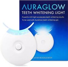 AuraGlow Teeth Whitening Accelerator Light 5x More Powerful Blue LED Light