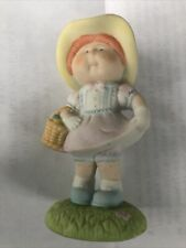 Cabbage Patch Kids Porcelain Figurine In Your Easter Bonnet 1985