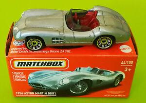 Matchbox 1956 ASTON MARTIN DBR1 (Silver) Mint in Box