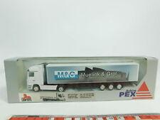 bd426-0, 5 #lion-toys / PEX 1:87 Lorry / Sz Mercedes/MB muelink & Grol , NIP