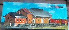 KIBRI HO Scale FREIGHT SHED Plastic Model Kit # B-9462 NEW In Box