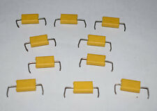 Philips Vintage Capacitor 0.015uF 250v 10% Chicklet 8017B - 10 Pieces