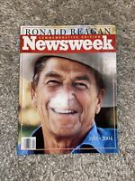 Newsweek Magazine June 14, 2004 Ronald Reagan 1911-2004 Commemorative Issue